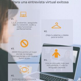 Entrevista virtual exitosa